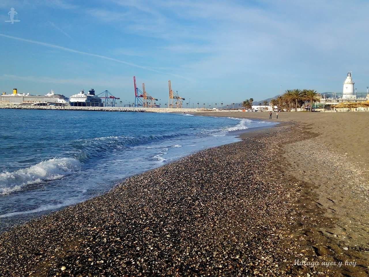#Málaga. Playa de la Malagueta. 03/05/2017