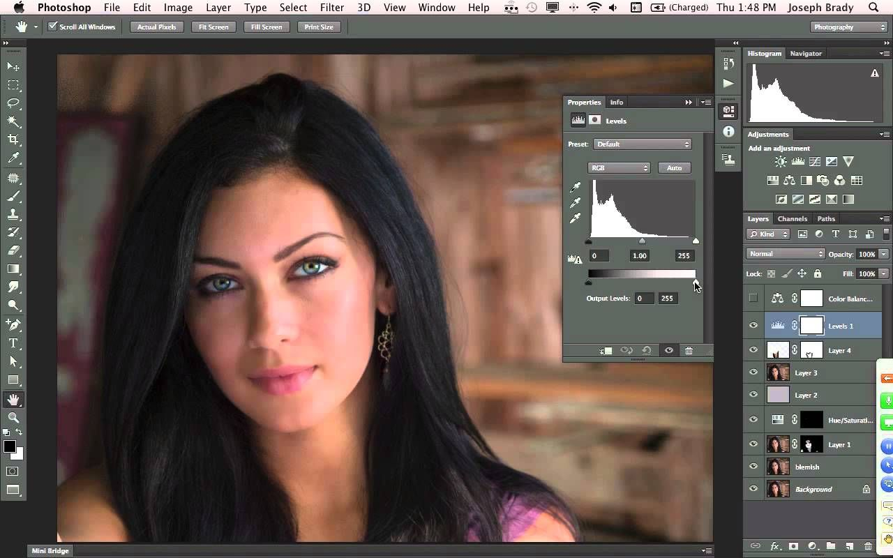 Webinar enhancements for creating beautiful portraits with for creating beautiful portraits with photoshop color checker adobe raw tasteful edits in ps great quick steps to fix blemishes and smooth skin baditri Choice Image