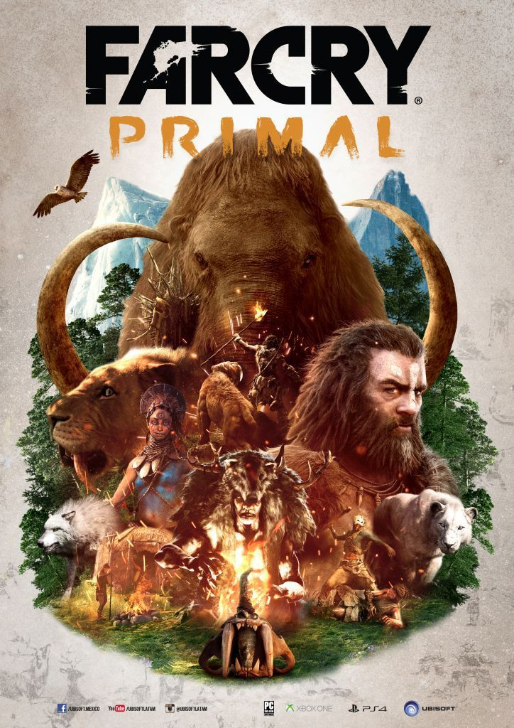 Far Cry Primal Ya Disponible A Nivel Mundial Para Playstation 4 Y Xbox One Far Cry Primal Arte De Videojuegos Fondo De Juego