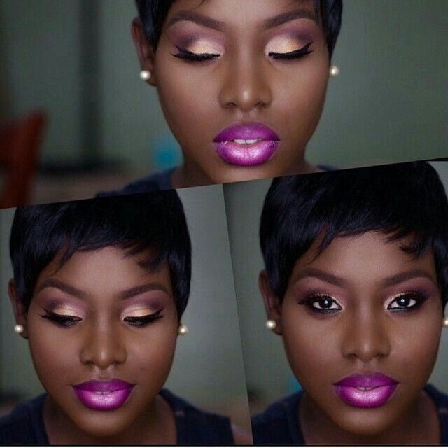 Pin By Netta Keith On Makeup For Black Women  Makeup Tips -2162