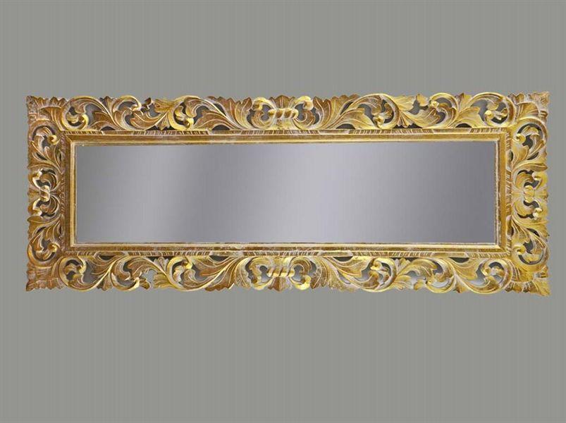Bagno Barocco ~ Specchio color argento cm stile barocco baroque mirror