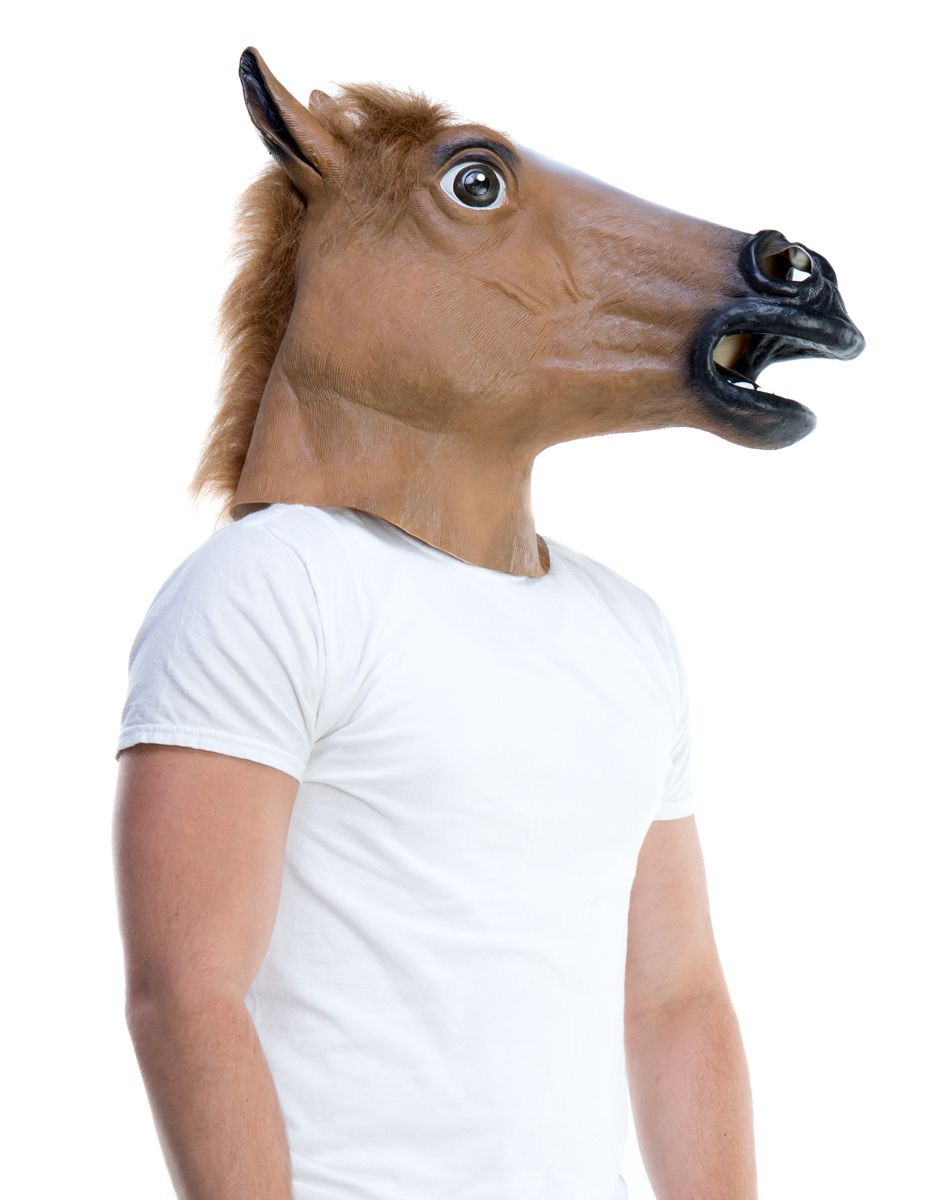 horse head mask spirit halloween
