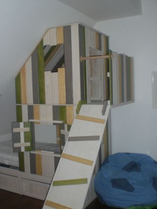 Baumhaus Furs Kinderzimmer Huis