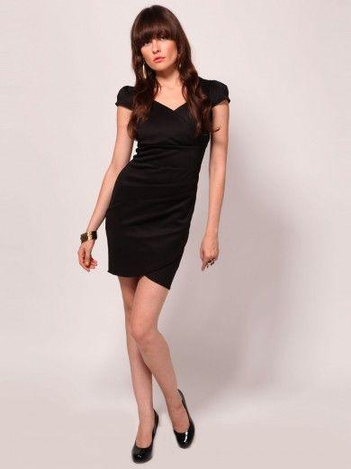 Buy Tiramisu Semi Formal Dress With Wrap Detail My Style
