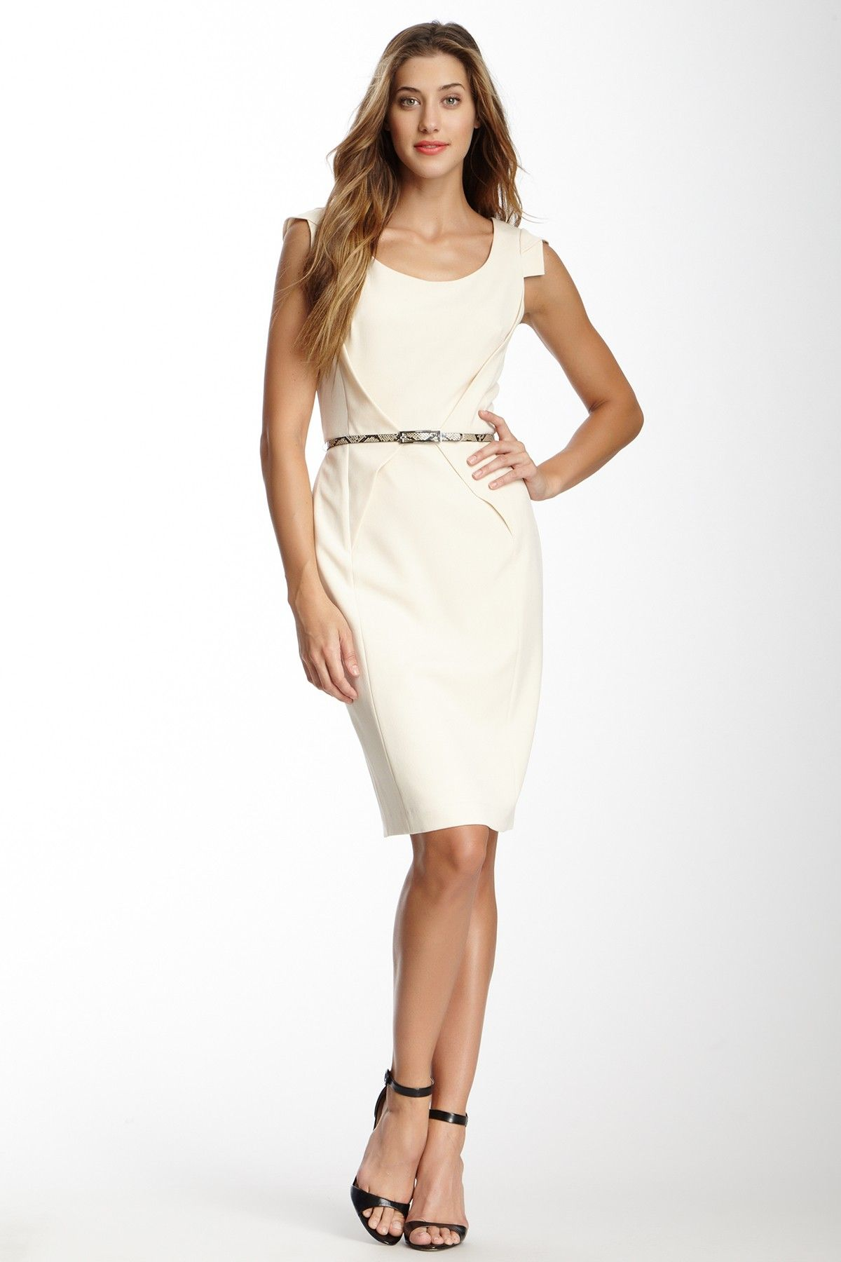 Adrianna Papell | Belted Dress | Nordstrom Rack
