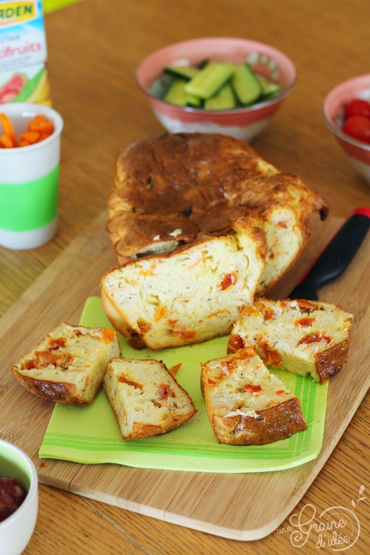 Cake au Surimi, Boursin Cuisine & Tomates Séchées   Recettes de ...
