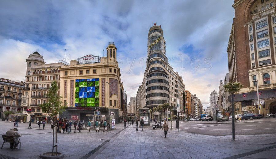 Mg 0777 Madrid Plaza De Callao Jpg Size 46 7 Mb 15012x8666 España Fotos Spain