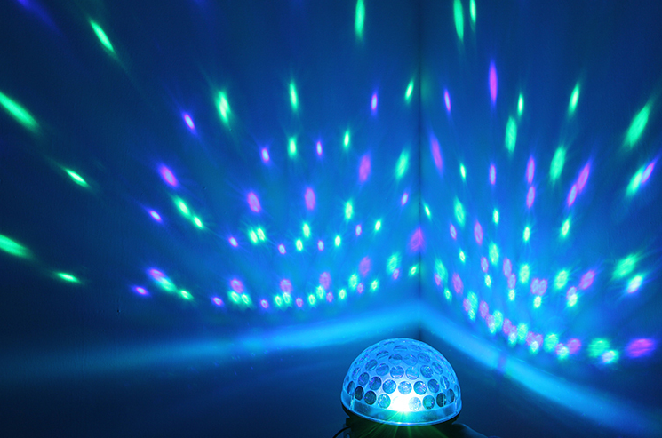 This Sound Activated Color Changing Strobe Light Strobe Lights Party Lights Trippy