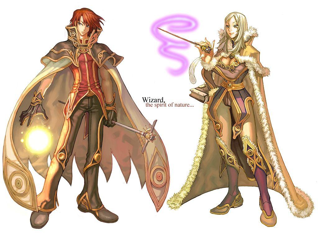 Ragnarok Online - Wizard | Characters in 2019 | Character