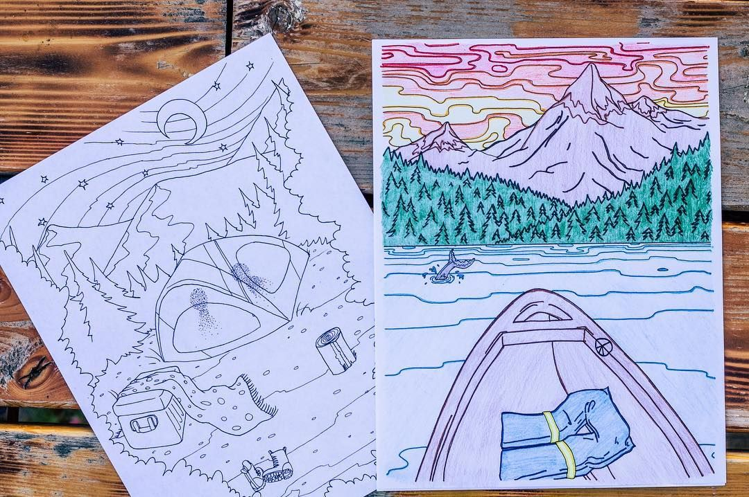 The three-day weekend is nearly here! What are your plans for the long weekend? We love to color at the beach at a campsite or just about anywhere else we enjoy downtime. Take along your favorite Blue Star Coloring books wherever your adventures take you this weekend!