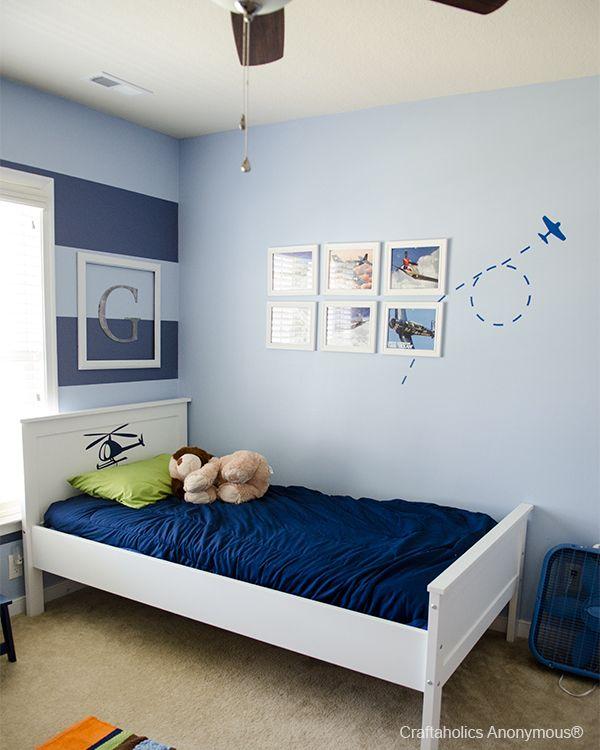 Airplane Wall Boys Room Colors Boy Room Paint Boy Room