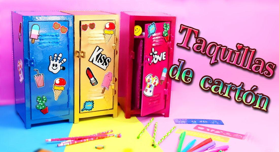 2650ed9aa1f Ideas DIY para decorar tu cuarto: Organizadores – Casilleros de carton | El  Mundo de Isa