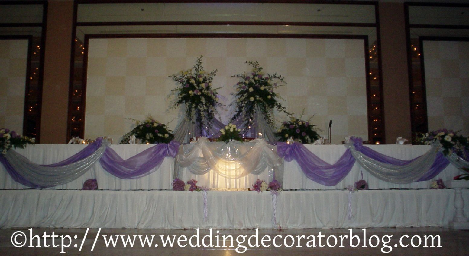Wedding Reception Head Table Decorations Wedding Rustic Head