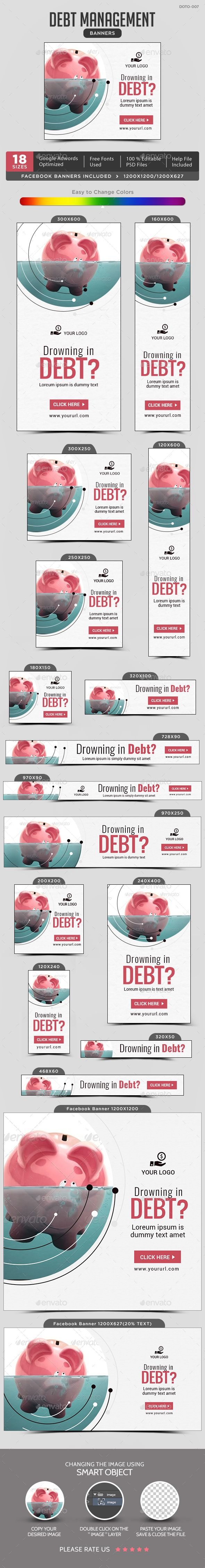 debt management banners banner pinterest banner template