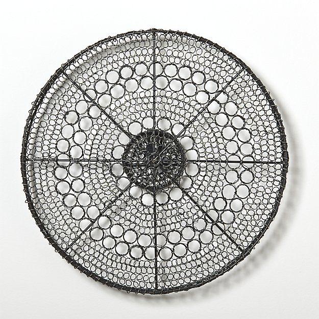 Intricate Circle Small Metal Wall Art Crate And Barrel Circle