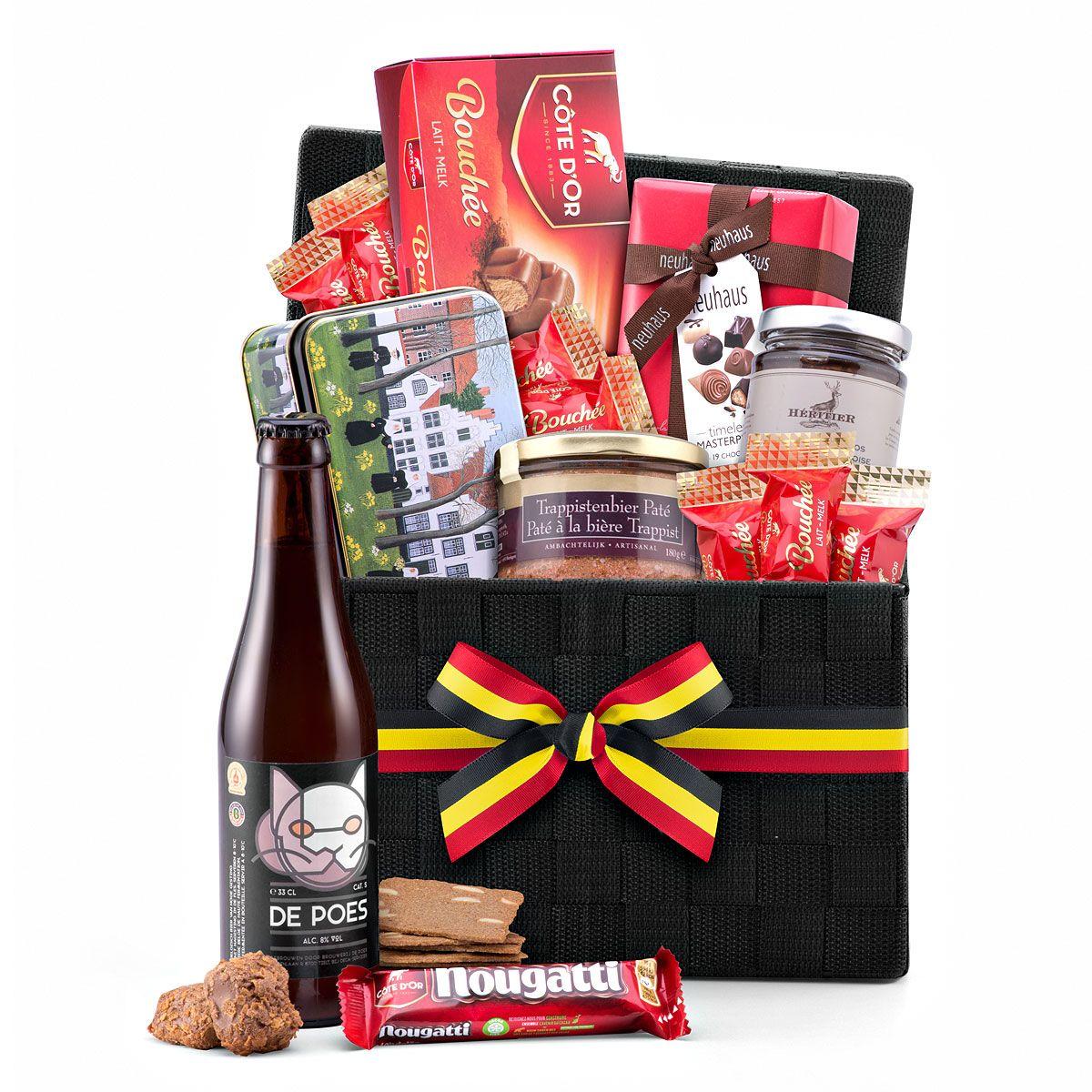 Belgian Gourmet Hamper With Belgian Beer Belgian Beer Gourmet Baskets Gourmet Gift Baskets