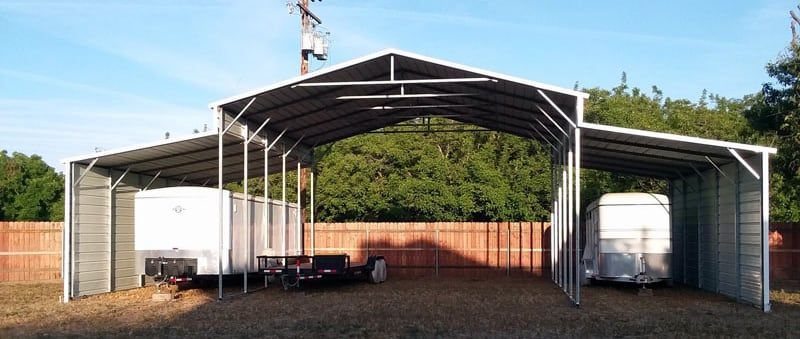 19 Portable And Permanent Rv Shelters For Campers Rv Shelter Building A Carport Rv Carports