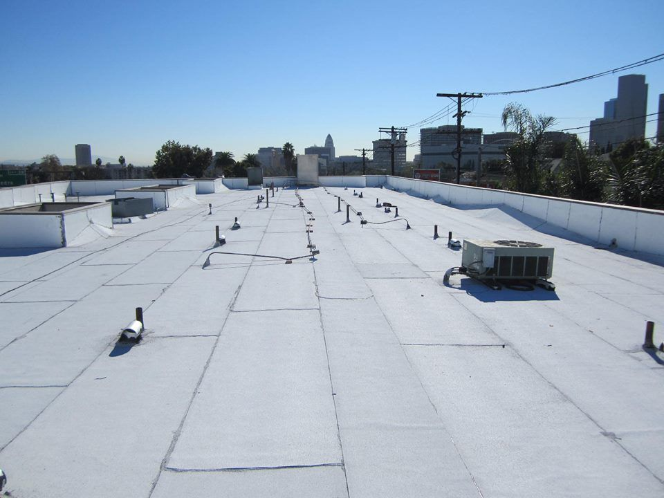 title 24 cool flat roof | final touch roofing projects | pinterest