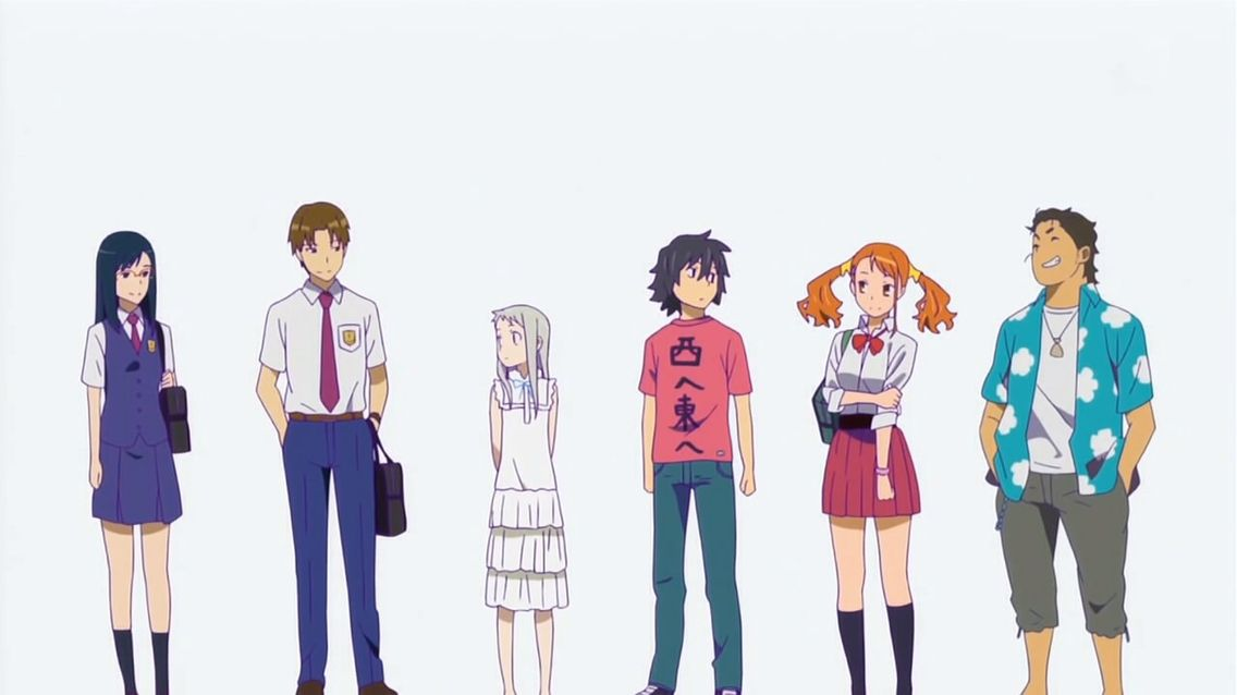Pin By Anime 4ever On Anohana Kokoro Ga Sakebitagatterunda