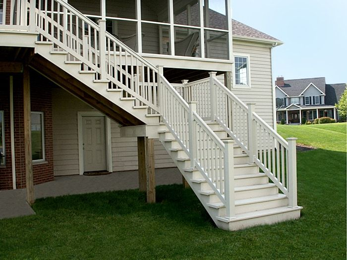 Vinyl Fence Wholesaler Deck Railings | Stair railing kits ...
