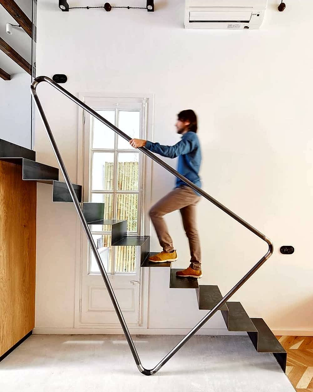 40 Trending Modern Staircase Design Ideas And Stair Handrails: Stairs Design Modern, Stair Railing