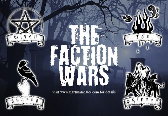 Jacklynn Love's Reading: Blitz: The Faction Wars by Martina McAtee