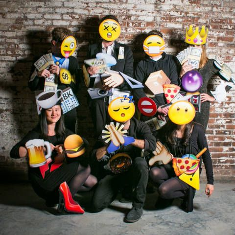 Cheap Halloween costume ideas that are easy to make Emojis - team halloween costume ideas