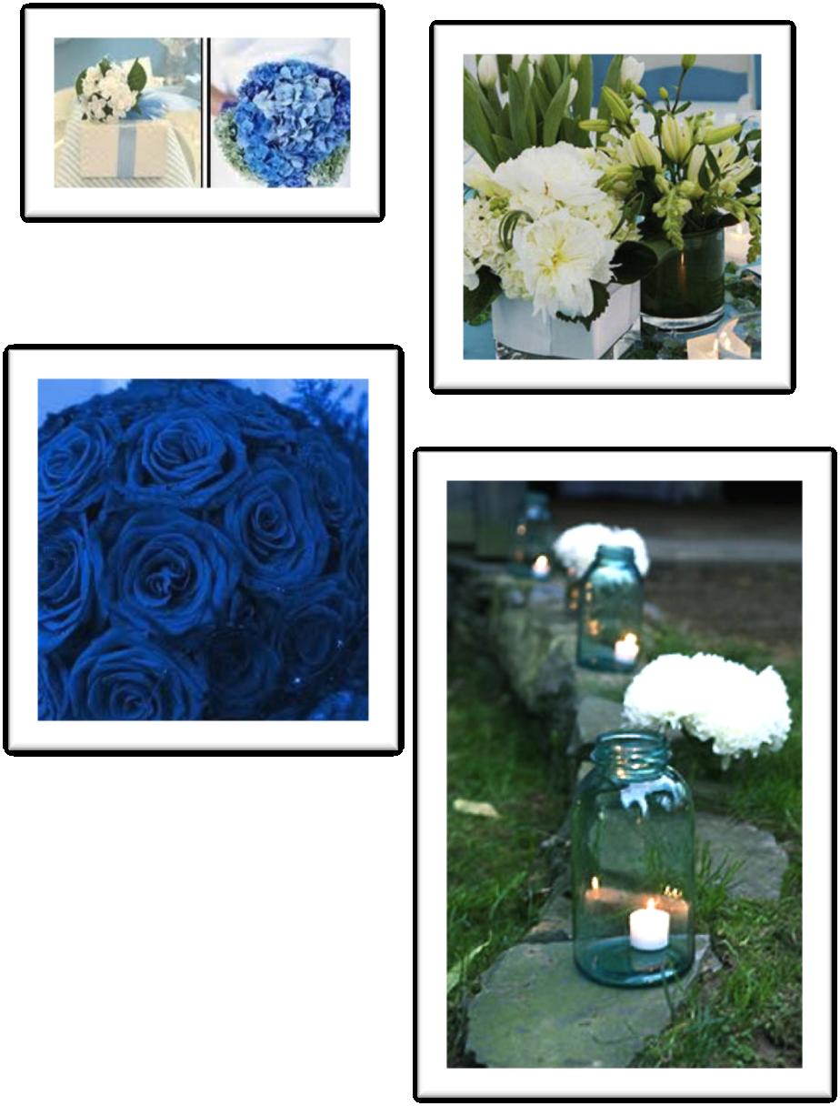 Blanco y azul flores decoraci n bodas tenerife www d bodas - Decoracion tenerife ...