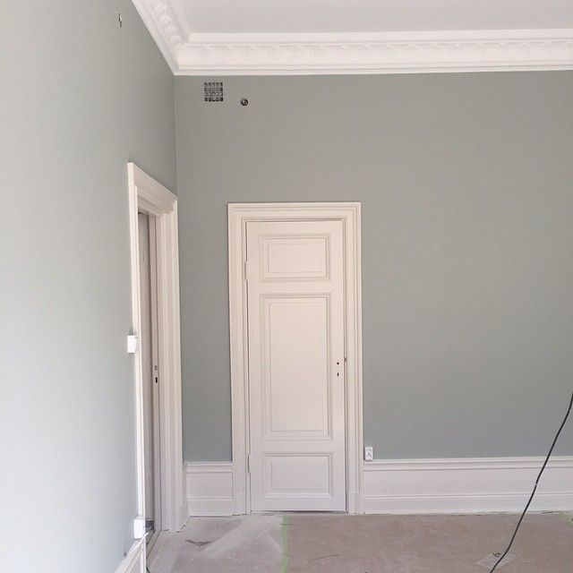 Farrow And Ball Light Blue.Nice Color For The Playroom Room With A Frame Ceiling
