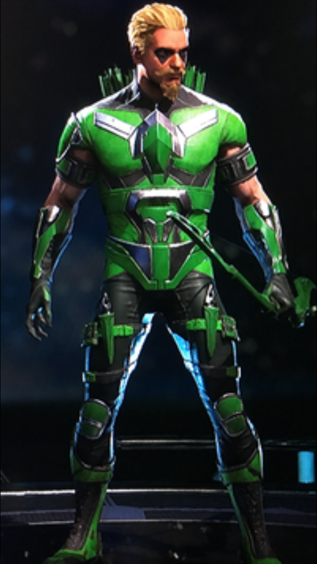 Green arrow injustice bow