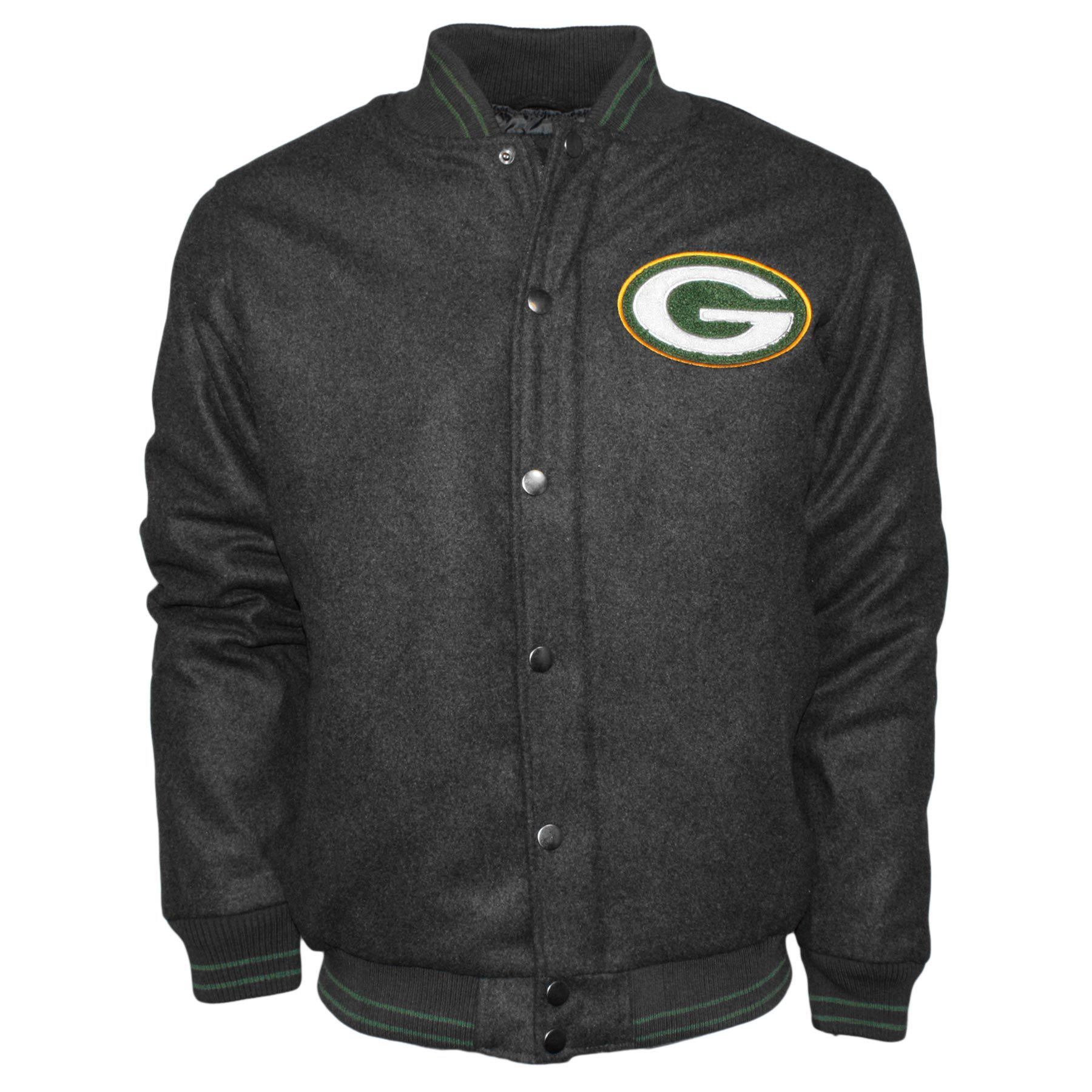 dd63ad020 Green Bay Packers Chenille Logo Nfl Varsity Jacket