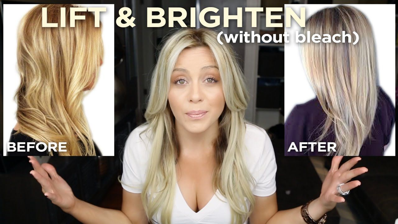 Simple At Home How To Get Brighter Blonde Hair One Step One