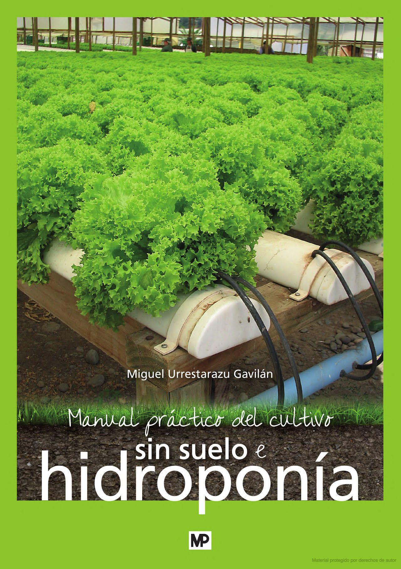 Manual Pr Ctico Del Cultivo Sin Suelo E Hidropon A