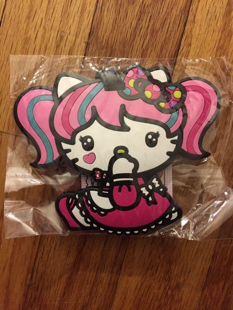 6e36c72ec Hello Kitty Collectible Luggage Bag Tag Sanrio Japanimation NEW Rare HTF  Gift