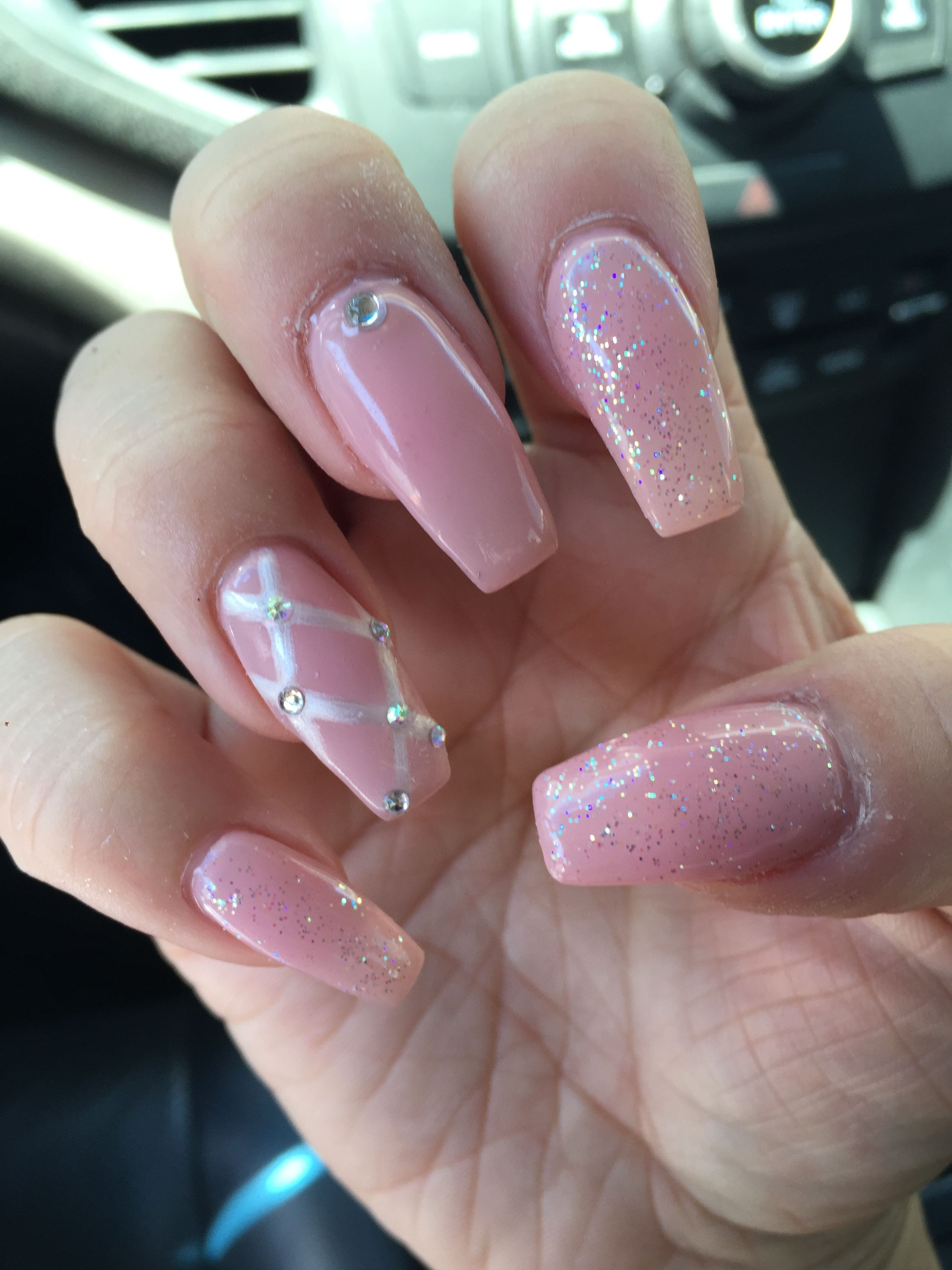Pin by K Mats on Nails | Pinterest | Coffin nails