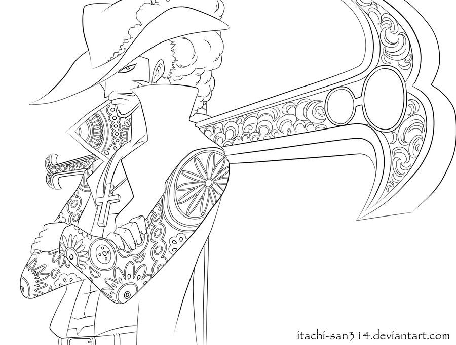 Luffy Lineart By Elsewhereland On Deviantart