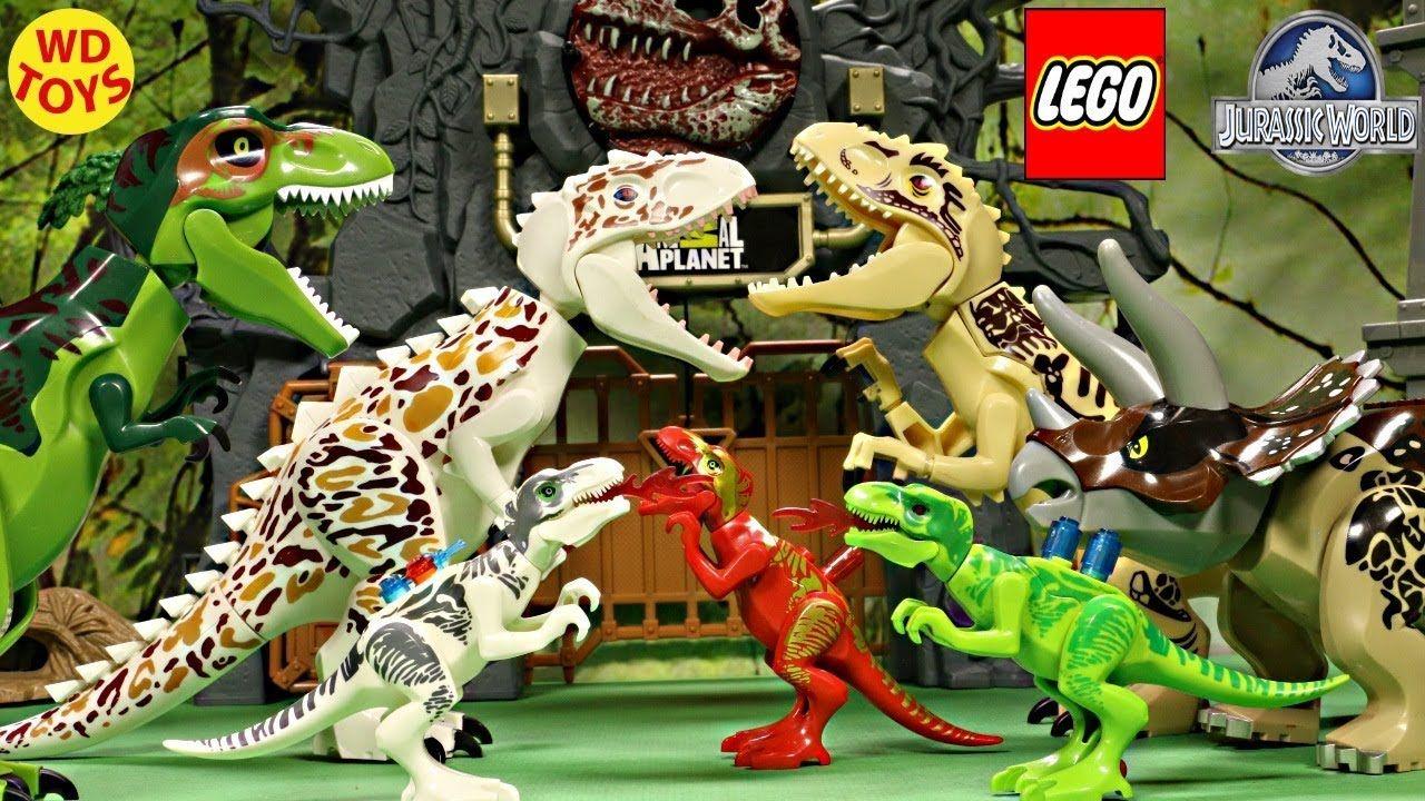 New 17 Jurassic World Lego Dinosaur Toys (Knockoff