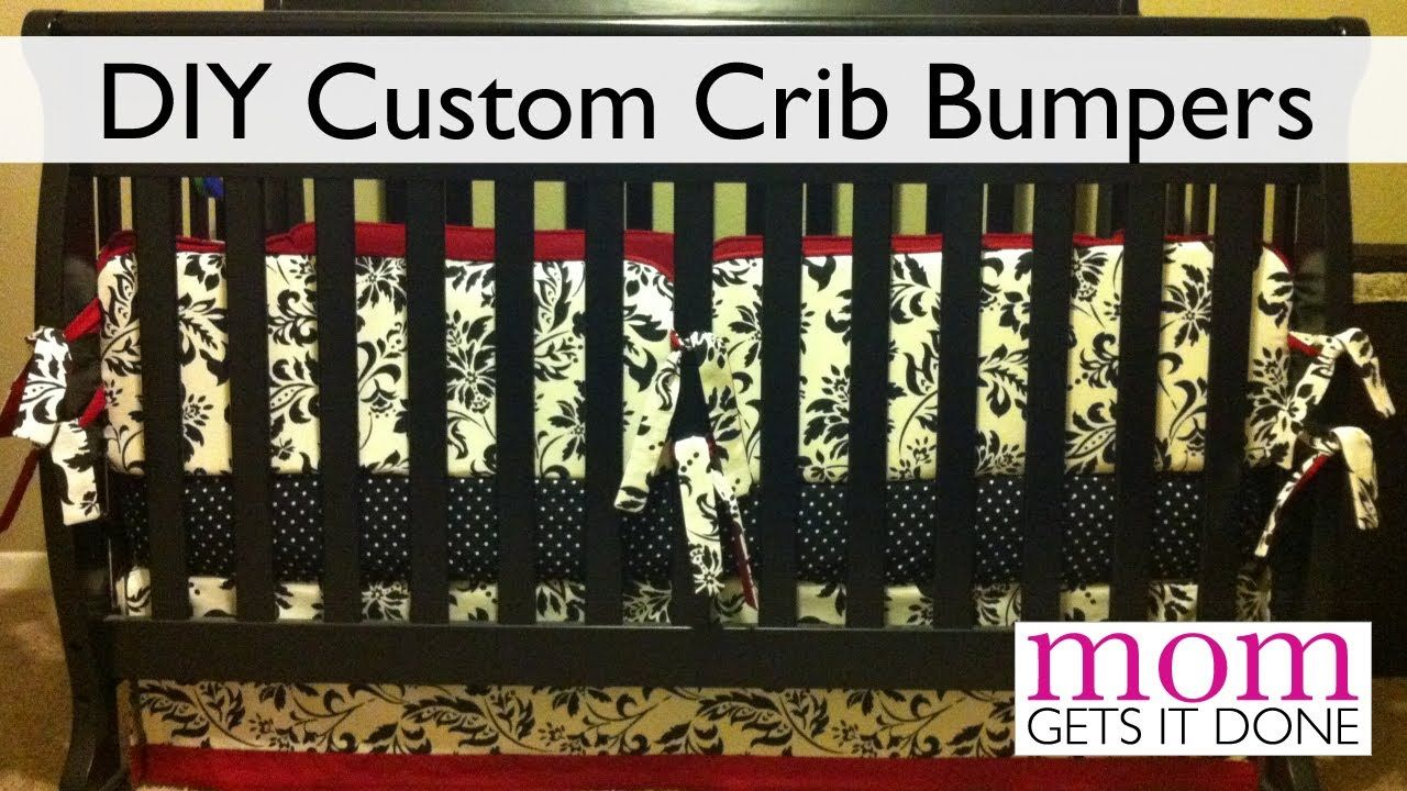 How to Make Crib Bumpers (DIY simple instructions) | Olivia ...