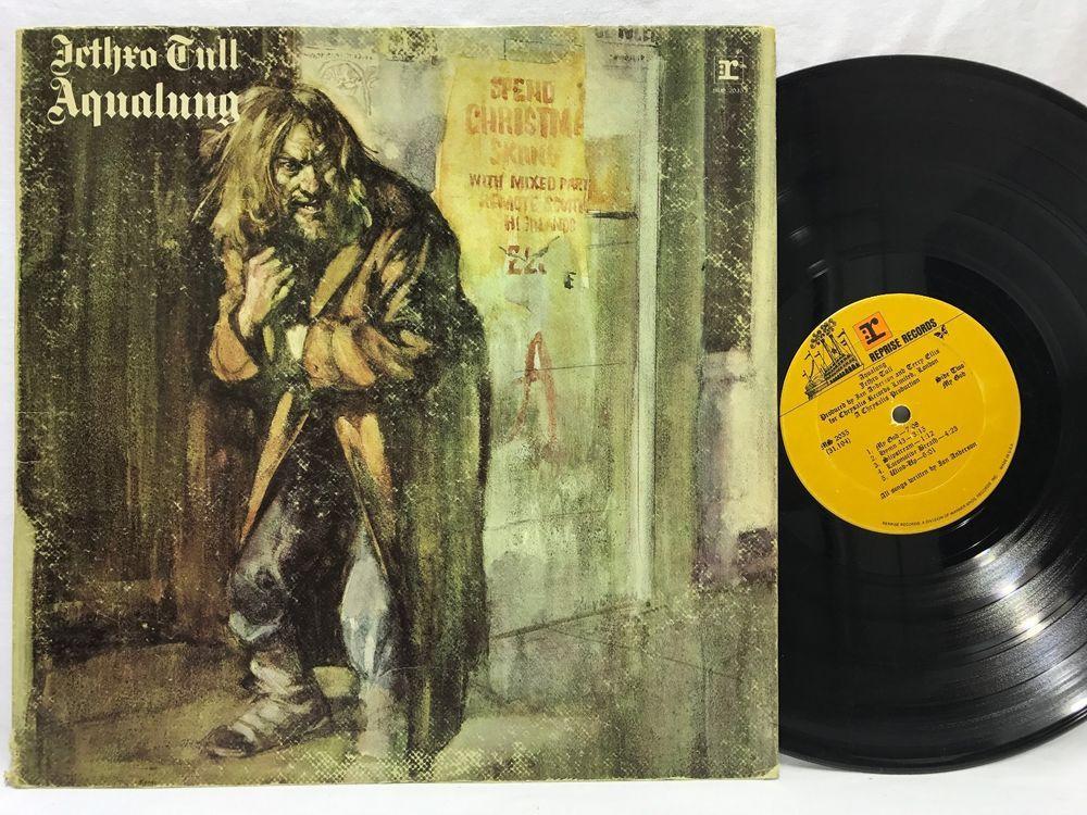 Jethro Tull Aqualung Reprise Gatefold MS 2035 Orange Label LP #Vinyl #Records