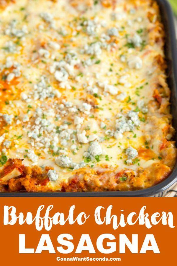 Buffalo Chicken Lasagna images