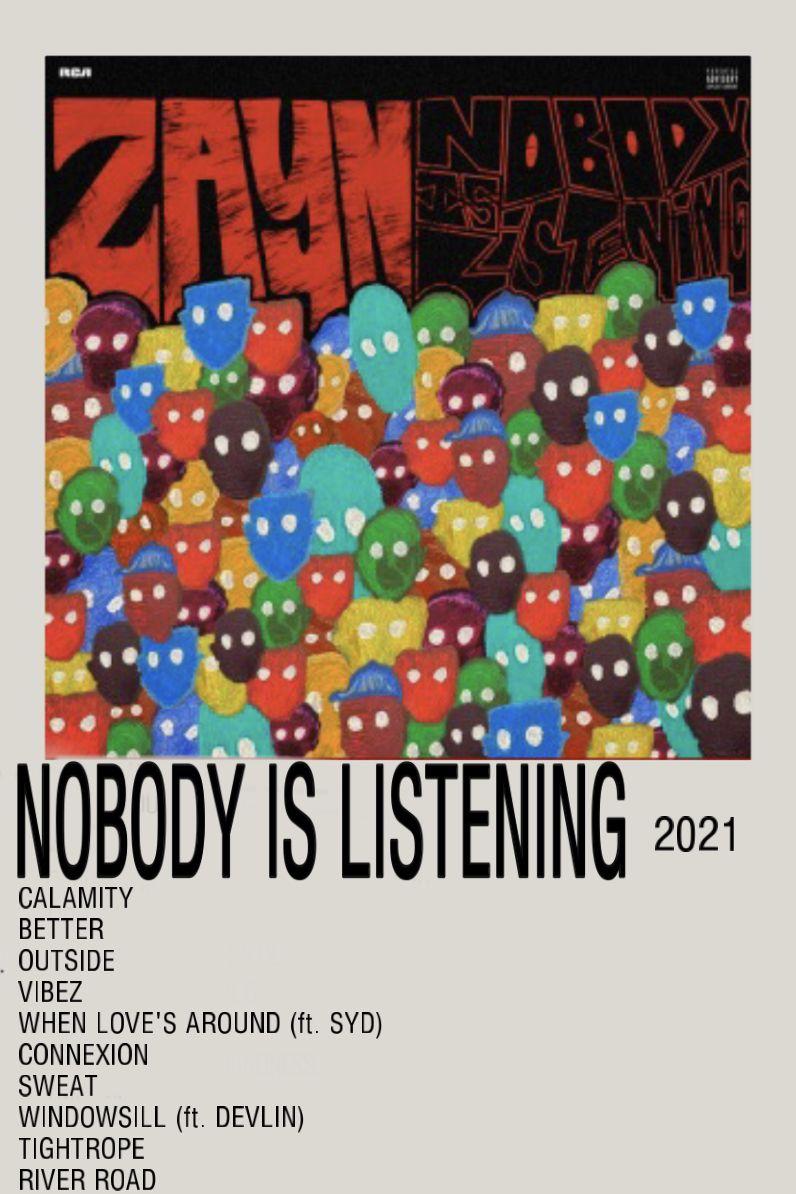 NOBODY IS LISTENING