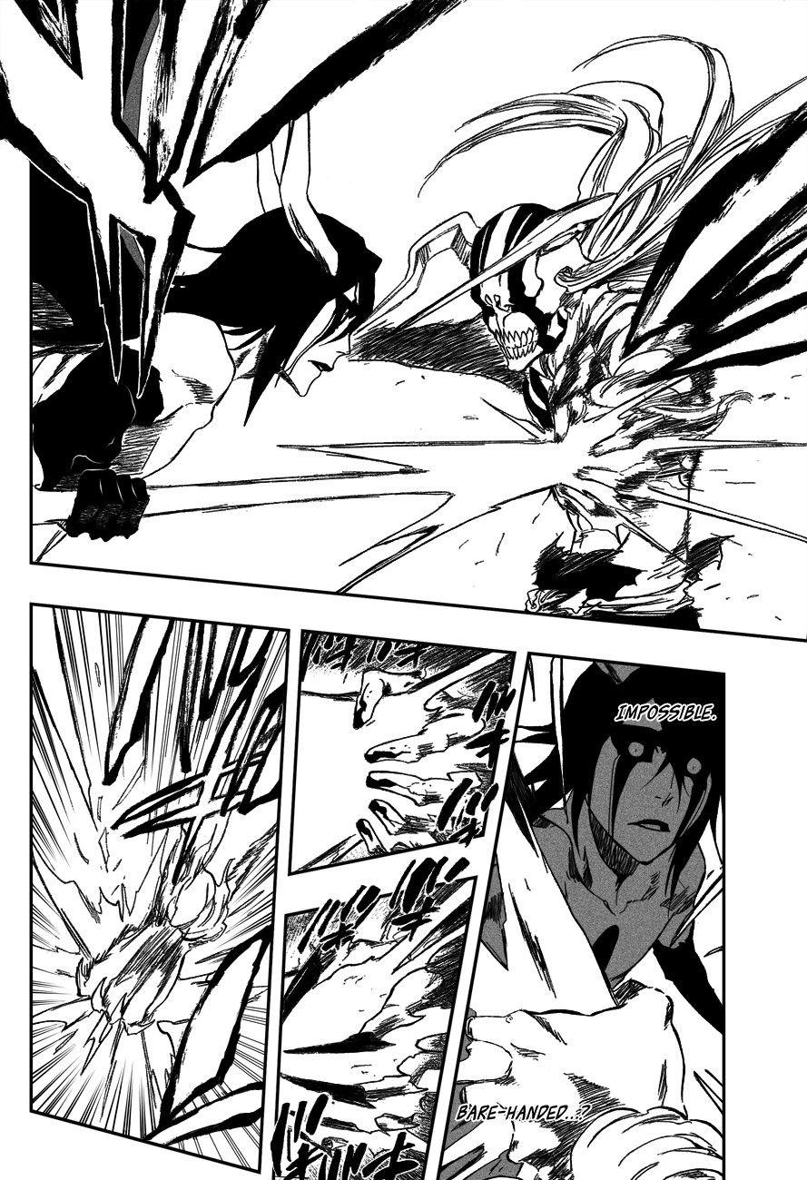Vasto Lorde Ichigo Vs Ulquiorra Bleach Anime Bleach Orihime