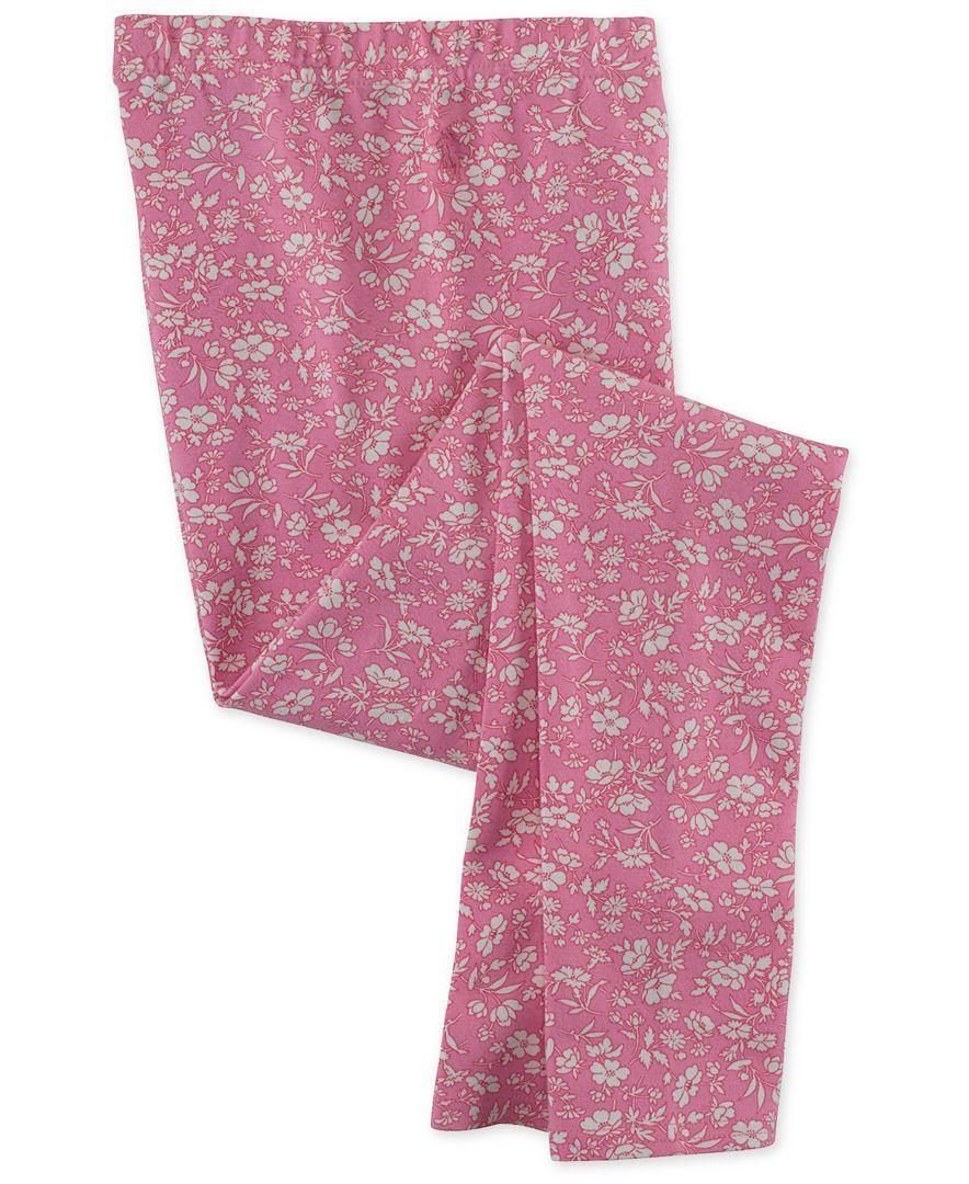 Ralph Lauren Girls' Floral Pull-On Leggings