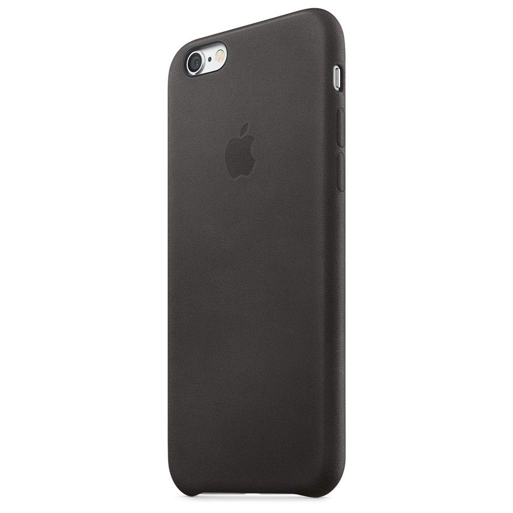 Kožený kryt na iPhone 6s – sedlově hnědý - Apple (CZ)  bb5e56018f8