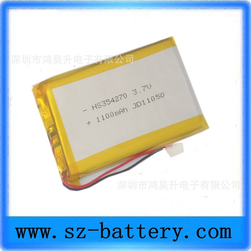 $13.20 (Buy here: http://appdeal.ru/57vq ) Factory Direct low-cost lithium polymer lithium polymer battery 354270 1100ma lithium battery for just $13.20