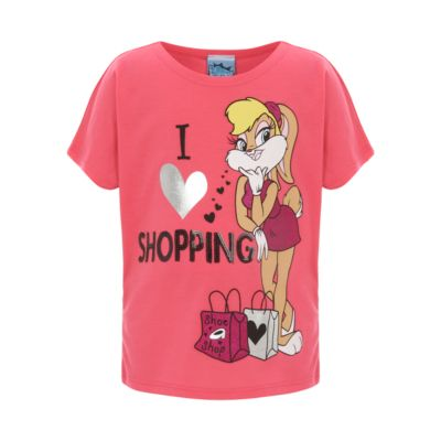 beb7435243 Lola Bunny Sequin T Shirt Pink. website.www.topcashback.co.uk | T ...