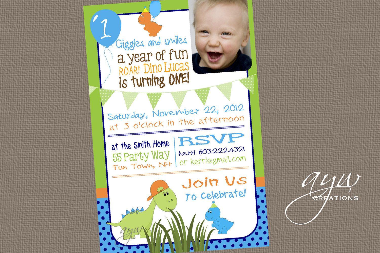 dinosaur first birthday invitation dinosaur dinosaur birthday