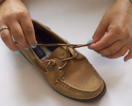 how to tie sperry barrel knots - | Shoe