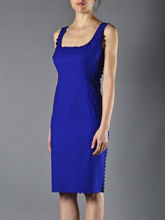 Vestito blu elettrico online