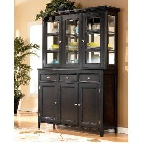 Carlyle Buffet With China Cabinet By Ashley Furniture Dining Room Storage Dining Room Design Furniture